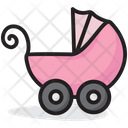 Pram Baby Carriage Baby Cart Icon