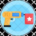 Funny Gun Prank Gun Joke Gun Icon