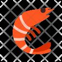 Prawn Animal Icon