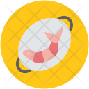 Prawn Cooked Serving Icon