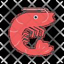 Prawns Shrimp Sea Icon