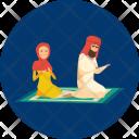 Pray Character Moslem Icon