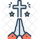 Pray Prayer Worship Icon