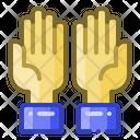 Dua Pray Hand Icon