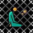 Pray India Religion Icon