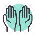 Pray Prayer Hands Icon