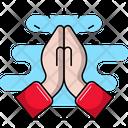Pray Gestures Religion Icon