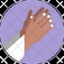 Ramadan Pray Hand Gestures Icon
