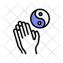 Yoga Practice Color Icon