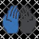 Prayer Hand Muslim Icon