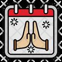 Pray Hope Hand Icon