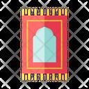 Praying Mat Floor Rug Icon