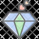 Precious Diamond Diamond Stone Icon