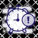 Predication Time Warning Time Limit Icon