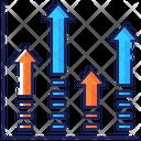 Prediction Market Arrows Icon