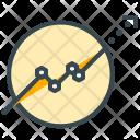 Prediction Graph Analysis Icon