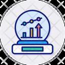 Prediction Analysis Regression Icon
