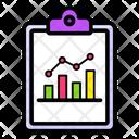 Predictive Analysis Business Analytics Business Report Icon