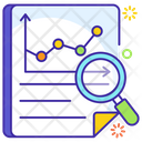 Analytics Monitoring Predictive Analytics Data Visualization Icon