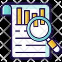 Bar Chart Data Analysis Business Statistics Icon
