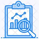 Predictive Analytics Regression Analysis Data Visualization Icon