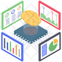 Predictive Analytics Vector Icon