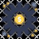 Preference Dollar Gear Icon