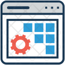 Preferences Layout Wireframe Icon