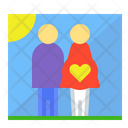 Pregnancy Husband Wife Icon