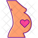Pregnancy Motherhood Childbearing Icon