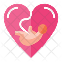 Pregnancy Love Baby Icon