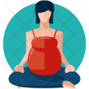 Pregnancy Yoga Icon