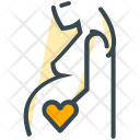 Mother Love Pregnant Icon