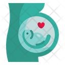 Pregnant Pregnancy Reproduction Icon