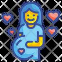 Pregnant Mother Gravid Icon