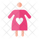 Pregnant Baby Maternity Icon