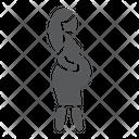 Pregnant lady Icon