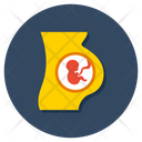 Pregnant Woman Pregnant Lady Motherhood Icon