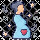 Pregnant Woman Pregnant Lady Motherhood Icon