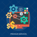 Premium Services Creative Icon