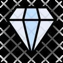 Premium Diamond Web Icon