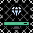 Premium Diamond Screen Icon