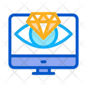 Diamond Vision Computer Icon