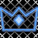 Premium Crown Badge Icon