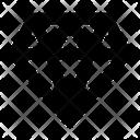 Jewel Diamond Premium Icon
