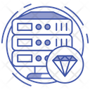 Premium Data Server Icon