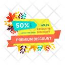 Premium Discount Icon
