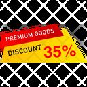 Premium Goods Discount Icon