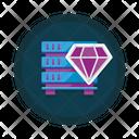 Premium Hosting Premium Service Quality Icon