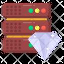 Data Hosting Premium Hosting Premium Database Icon